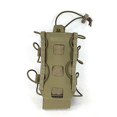 Vanquest HYDRA Bottle Holder (Coyote Tan) (Edc Maximizer)