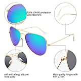Livhò Sunglasses for Men Women Aviator Polarized