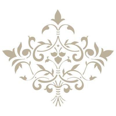 comprare a buon mercato Guantity limitata garanzia di alta qualità Stencil Mini Deco Damasco 022. Misure: Dimensioni esterne ...