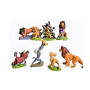 Wendingstan 9 Pcs The Lions King Figures Toys Play Set Size 5-9cm