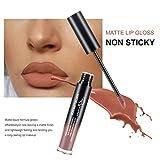Lip Gloss by Rejawece - Waterproof Long Lasting Matte Lip Gloss Liquid Lipstick Beauty Makeup Cosmetics Lip Stick (Color 11#)