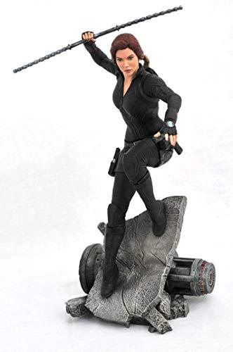 41Xb%2Bis1RgL DIAMOND SELECT TOYS Marvel Premier Collection: Avengers Endgame Black Widow Statue, Multicolor