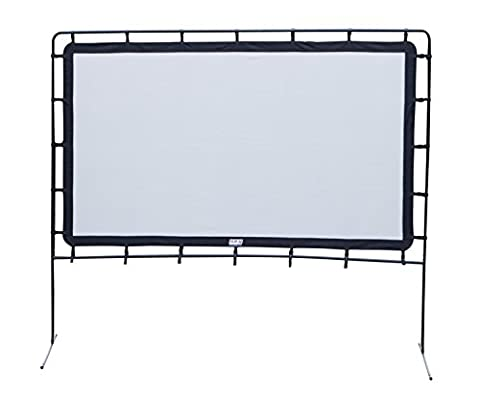 Camp Chef OS92L Portable Outdoor Movie Screen, 92-Inch (Projector With Projector Screen)