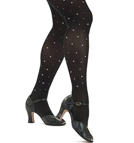 3eb38d8c510e1 Capezio Women's Ultra Soft Rhinestones Tights at Amazon Women's ...