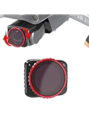 QKOO Neutral Density Fader Variable ND Filter Adjustable VND2-5 for DJI Mavic Air 2S Drone