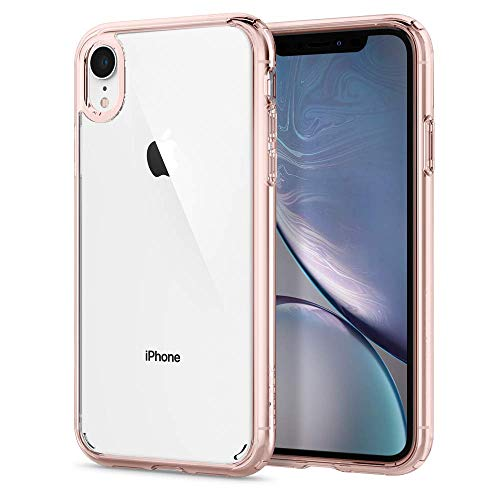Spigen Ultra Hybrid Designed for Apple iPhone XR Case (2018) - Rose Crystal (Best Case For Gold Iphone)