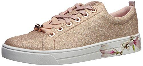 (Ted Baker Women's Kellei Sneaker, Rose Gold Harmony, 9.5 B(M) US)