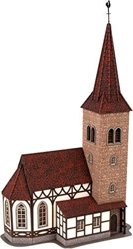 Noch 66906 Church w//Ringing Bells H0 Scale