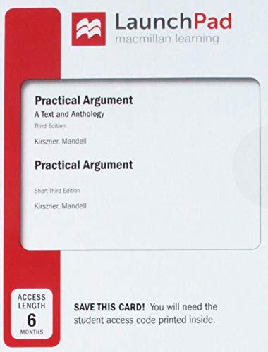 Practical Argument: A Text and Anthology