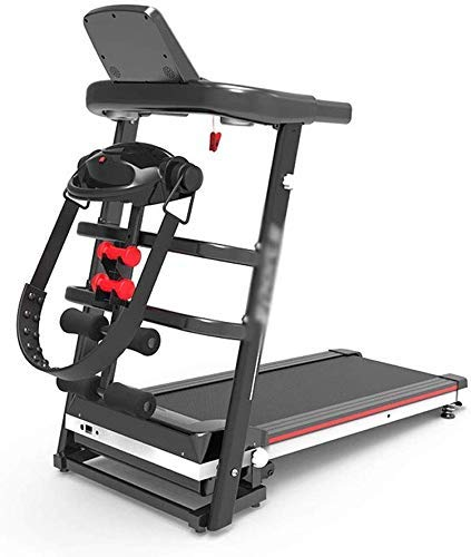 Folding Treadmill Electric Motorized Running Machine w/Incline LCD Display and Cup Holder Easy Assembly Fitness Exercise