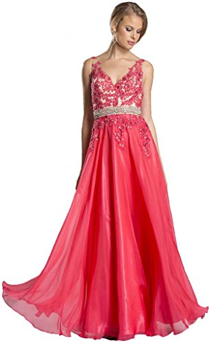 Pageant Prom Evening Formal Gown - 9