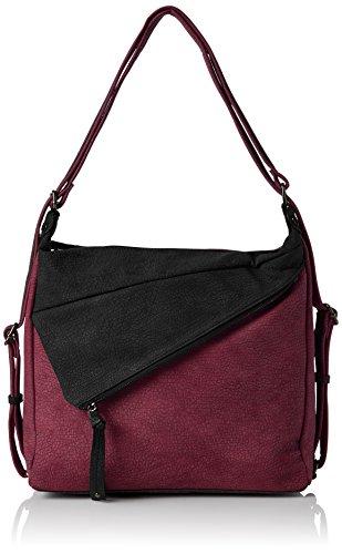 Swanky Swans Finley Convertible Strap Rucksack - Bolsos mochila Mujer Rojo (Burgundy)