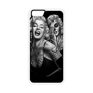 """Zombie Marilyn Monroe Cool pictures PC Hard Plastic phone Case Cover For Apple Iphone 6,4.7"""" screen Cases JWH9136151"""