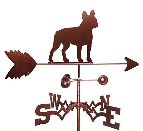 MONTGOMERY INDUSTRIES French Bull Dog (Garden Mount) Weathervane