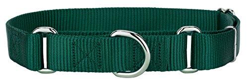 Top Dog Nylon Collar (Country Brook DesignMartingale Heavyduty Nylon Dog Collar - Green - Large)