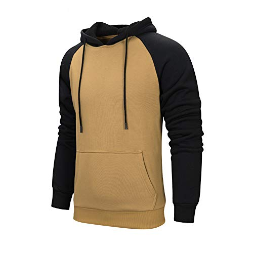 c7908035978cb TOLOER Men s Hoodies Pullover Casual Solid Color Sports Outwear Sweatshirts  - Buy Online in Oman.