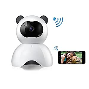 WiFi Camera FHD 1080P Dog IP Cam Wireless Security Camera - WiFi Baby Camera - Pet Monitor Pan/Tilt with Motion Detection Video Recording-Two-Way Audio Night Vision for Home Surveillance