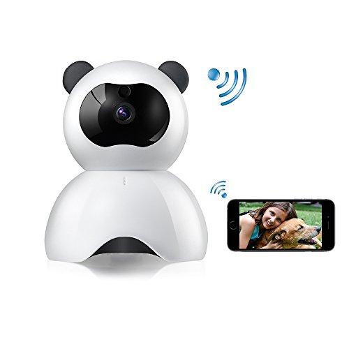 Cámara WiFi WiFi Cámara de seguridad inalámbrica para cámara IP para perros FHD 1080P - Cámara para bebés WiFi -...