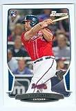 Evan Gattis baseball card (Atlanta Braves Houston Astros star) 2013 Topps Bowman #37 Rookie