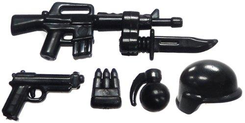 "Price comparison product image BrickArms 2.5"" Scale Exclusive M16 Battle Kit"