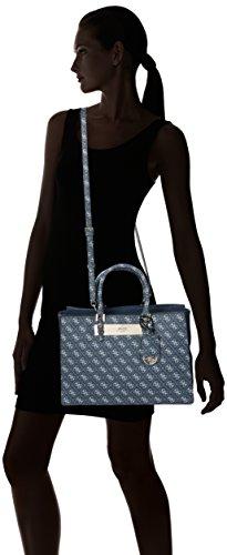 Guess Isla Shopper Tasche 36 cm Blau, Verwaschen