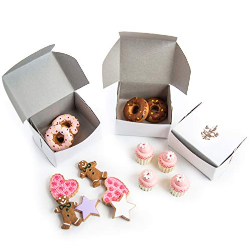 (American Bakery Collection Bake Set of Strawberry and Chocolate Sprinkle Doughnuts, Cookie & Mini Frosted Cupcakes with Authentic Bakery Box, Fits 18 inch American Girl Doll Accessories)