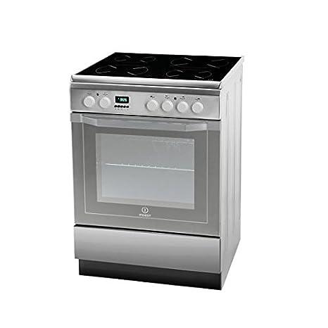 Indesit I6VMC6A(X)/GR - Cocina (Cocina independiente, Acero ...