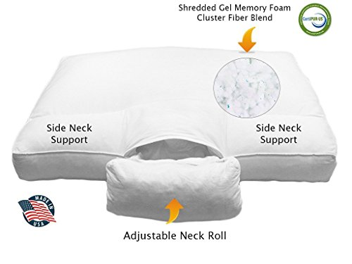 Side Sleeper Pillow For Shoulder Pain Amazon Com