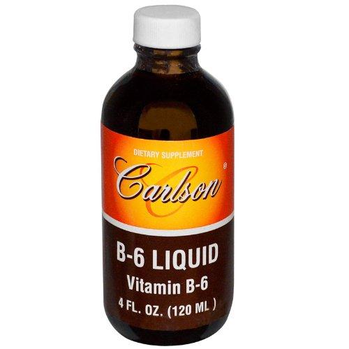 Carlson Labs Vitamin B-6 Liquid, 4 Ounces