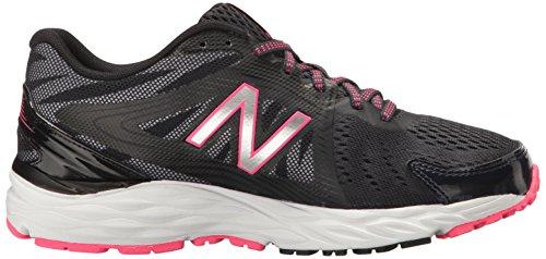 New Balance Women's W680v4 Running Shoe Thunder/Black/Alpha Pink free shipping buy Qwasu