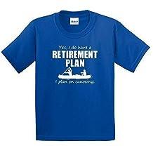 Canoeing Retirement Plan T shirt