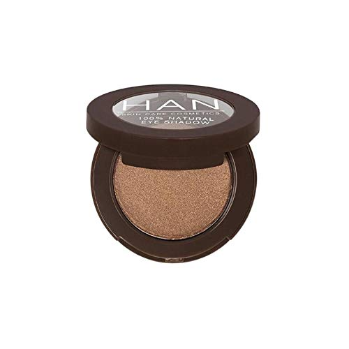 HAN Skincare Cosmetics All Natural Eyeshadow, Chocolate Bronze