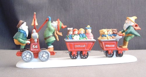 Dept 56 North Pole Last Minute Delivery Retired 56367