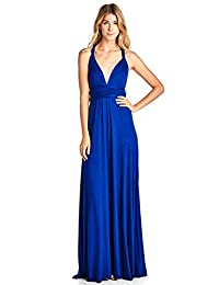 Kainy Women's Convertible Maxi Infinity Wrap Multi Way Long Bridesmaid Dress