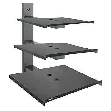 Buy Jdtraders Royal Look Wall Mount Stabilizer Stand For Dvd Player Set Top Box And Tv Black Online At Low Prices In India Amazon In