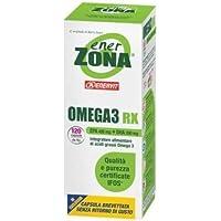 Enervit Enerzona Integratore Alimentare per il Controllo del Colesterolo e Trigliceridi, Omega 3 RX - 120 Compresse