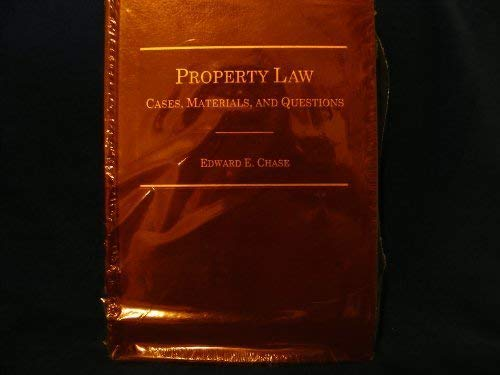 Property law: Cases, materials and questions pdf