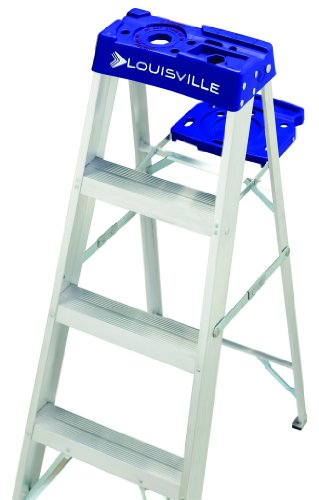 Louisville Ladder AS2110 250-Pound Duty Rating Aluminum Stepladder, 10-Feet by Louisville Ladder (Image #2)