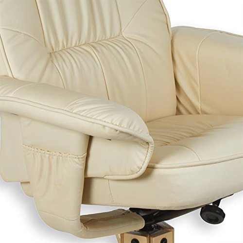 IDIMEX Fauteuil de relaxation CHARLY avec repose-pieds  pouf siège pivotant  dossier inclinable c26d185807cb