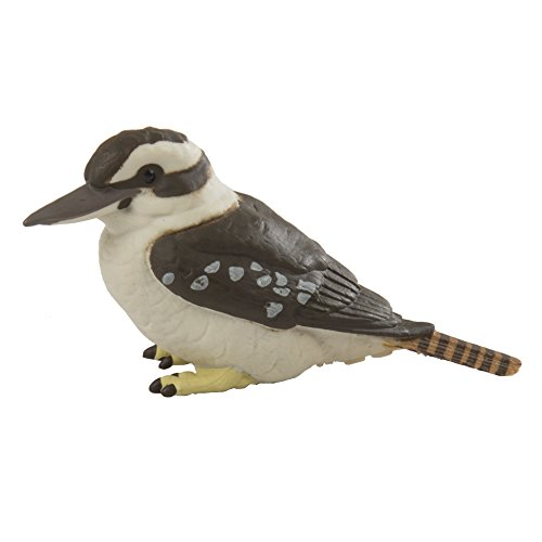 Safari Ltd. Kookaburra - Realistic Hand Painted Toy Figurine Model - Quality Construction from Phthalate, Lead and BPA Free Materials - For Ages 3 and Up -  151129