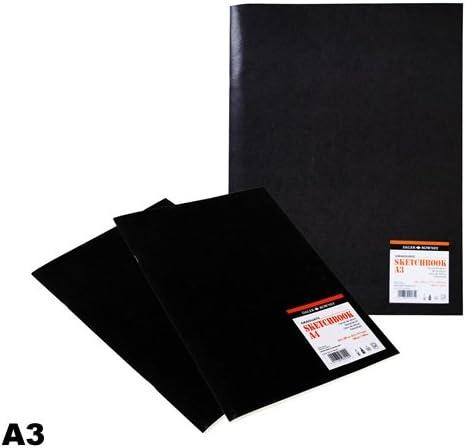 Quaderno con graffatura ideale per disegno Daler Rowney Graduate formato 29,7 x 42 cm con 20 fogli di carta da 140 g//mq a grana fine