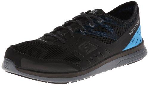 Salomon Men's Cove Sandal Black/Fluorescent Blue/Pearl Grey DXWVz