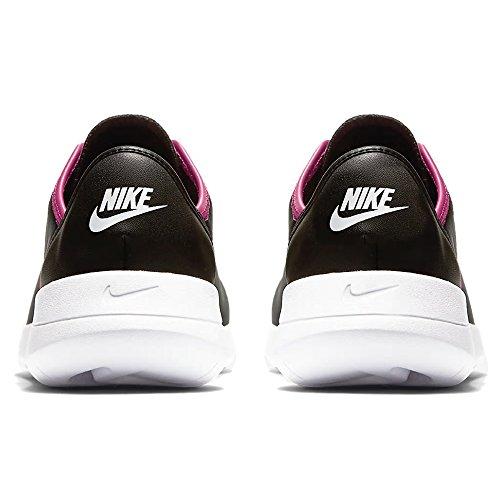 Black GS Hakata Pink NIKE white Running Mujer Zapatillas para de Negro 002 Rush q4vv85