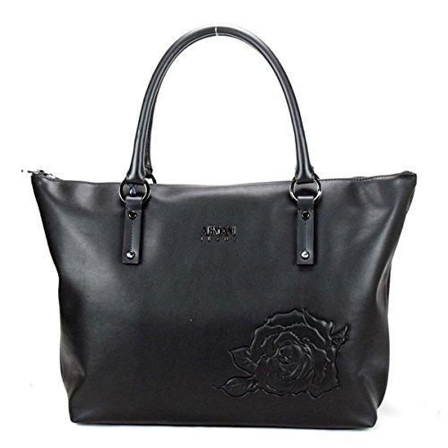 Armani Jeans Borsa Donna Shopping con Rosa 922339 7A809 NE