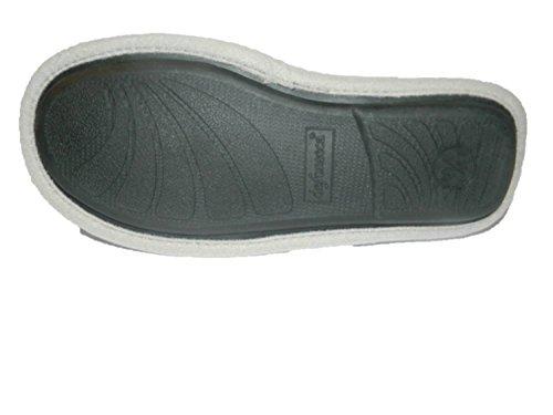 DE FONSECA Pantofole ciabatte lana fondo in gomma