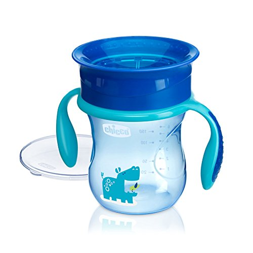 Chicco NaturalFit 360 Degree Rim Trainer Sippy Cup with Hand