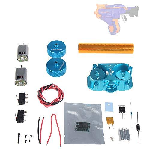 Flywheel Set - WORKER Upgraded Flywheel Mod Kit Set Motor for Nerf N-Strike Elite Infinus Blaster (Diamond Texture)