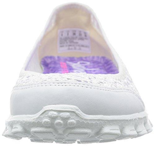 Skechers Sport Womens EZ Flex Flighty Majesty Slip-on Flat White Flighty gS8sWy