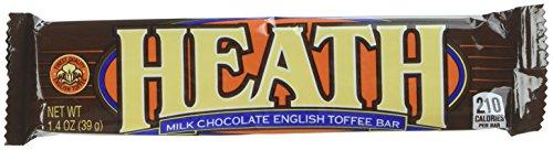 (HEATH English Toffee Bars (1.4-Ounce Bars, 2 Packs of 18))