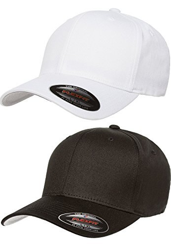 Flex fit Premium Original V-Flexfit Cotton Twill Fitted Hat 5001 2-Pack ( 583418490d3e